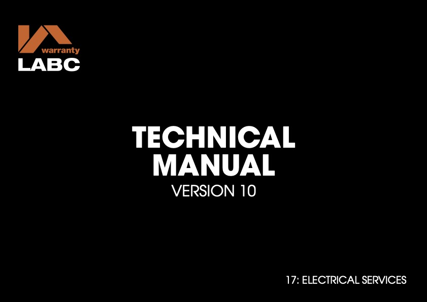 TM covers V10 - 17 Electrical Services