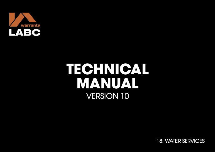 TM covers V10 - 18 Water Services