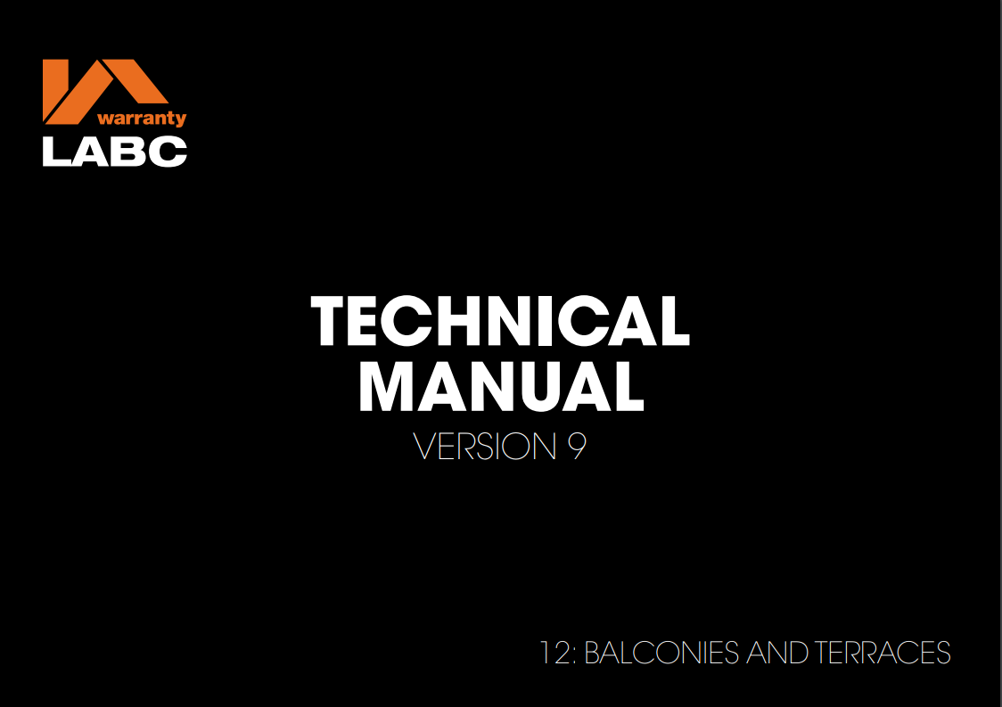 12. Balconies and Terraces_ Technical Manual v9