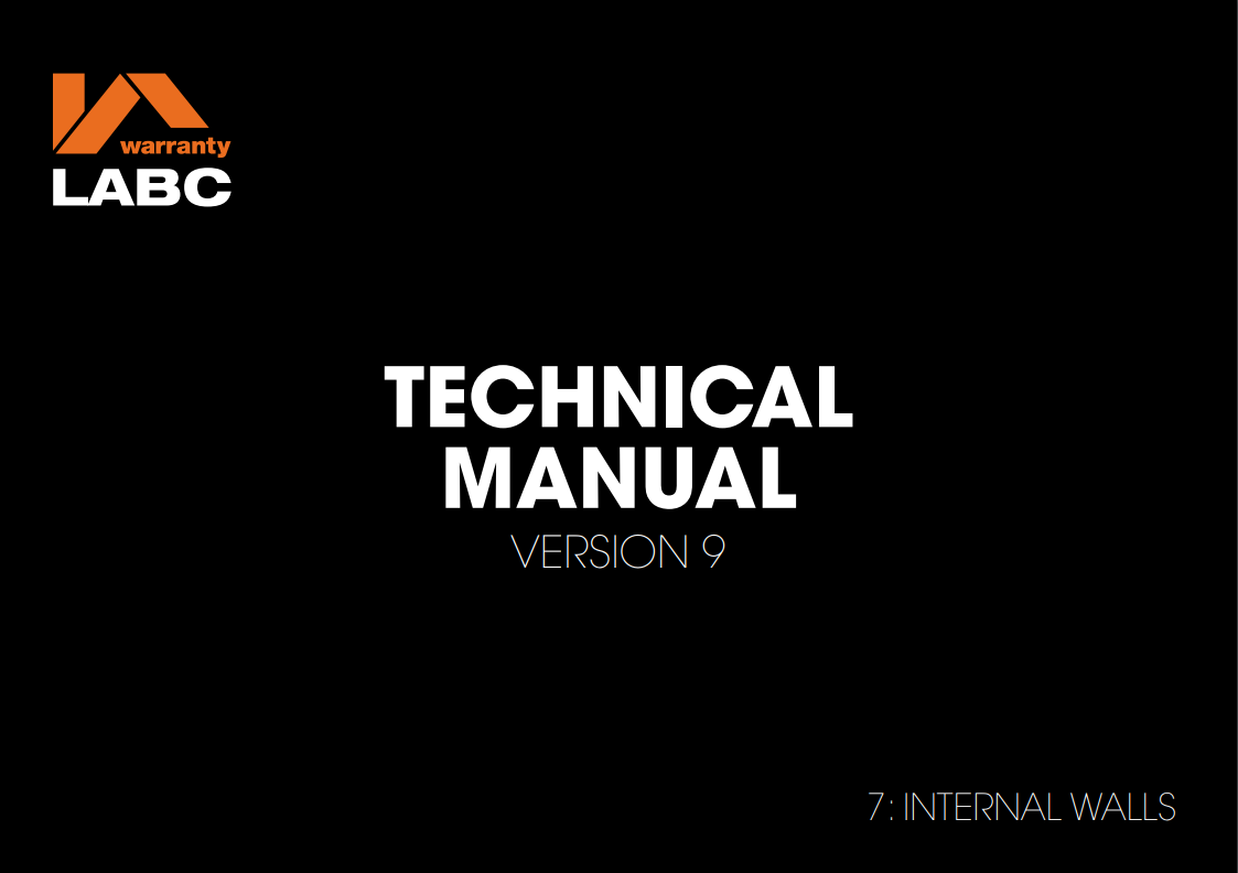 7. Internal walls_ Technical Manual v9
