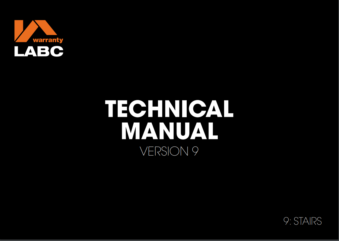 9. Stairs_ Technical Manual v9